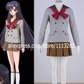 New 2017  Anime Pretty Soldier Sailor Moon Cosplay Costume female halloween party Any Size,Customized accepted