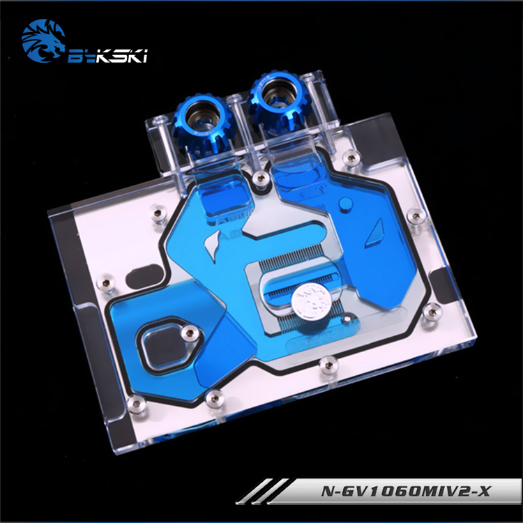 Bykski N-gv1060miv2-x Gi Gabyte Gtx1060wf2oc Gtx 1060 Ixoc Full Coverage Pmma Graphics Card Water Cooling Block Fan Cooling Convenience Goods Fans & Cooling