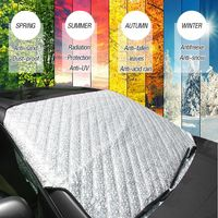 Mayitr Universal 4 Seasons Car Front Windshield Anti Snow Ice Shield Cover Frost Protector Front Window