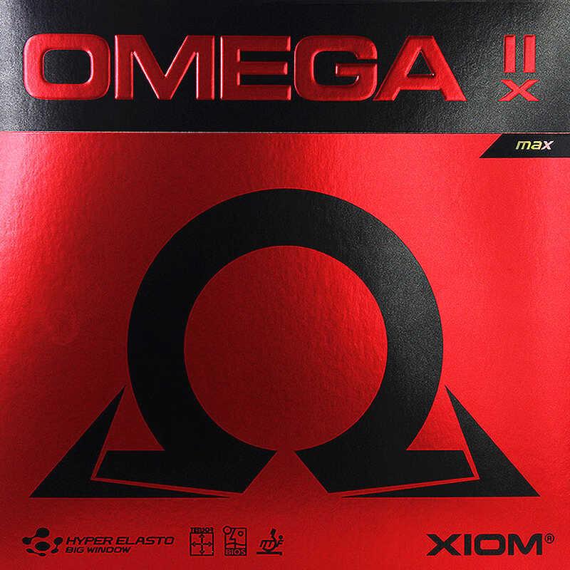 Резиновая лента для настольного тенниса XIOM OMEGA IIX, не липкие прыщи с бегущим теннисом для пинг-понга