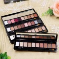 Natural Shimmer Matte Makeup Fashion Shadows Light Eyeshadow Cosmetic Brush Set With 10 Colors Makeup Eye Palette 1 PCS M02846