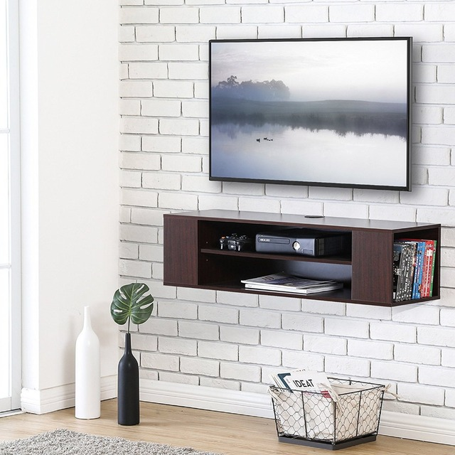 wall mounted tv cabinet Floating TV stand Wall Mount TV cabiMedia Console  wall mounted tv cabinet