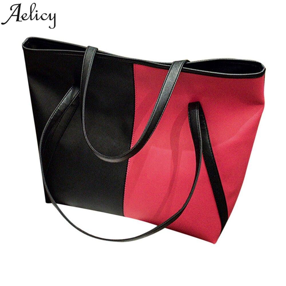 Aelicy Top-handle bags handbags women famous brands ladies shoulder bag leather Large Capacity designer handbags high quality