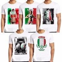 Été Hommes Italie Blanc T Shirt 2016 Drôle Rock Coton O cou T-shirt Imprimé Hommes Casual Marque T-shirts Manches Courtes Top Camisetas