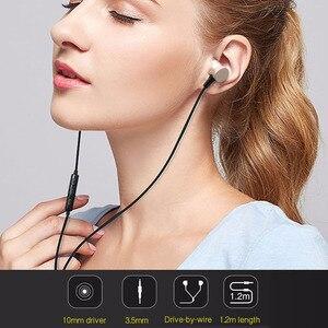 Image 3 - Наушники вкладыши Awei с микрофоном, проводные металлические стереонаушники с микрофоном и супербасами, наушники для iPhone, Samsung, Xiaomi