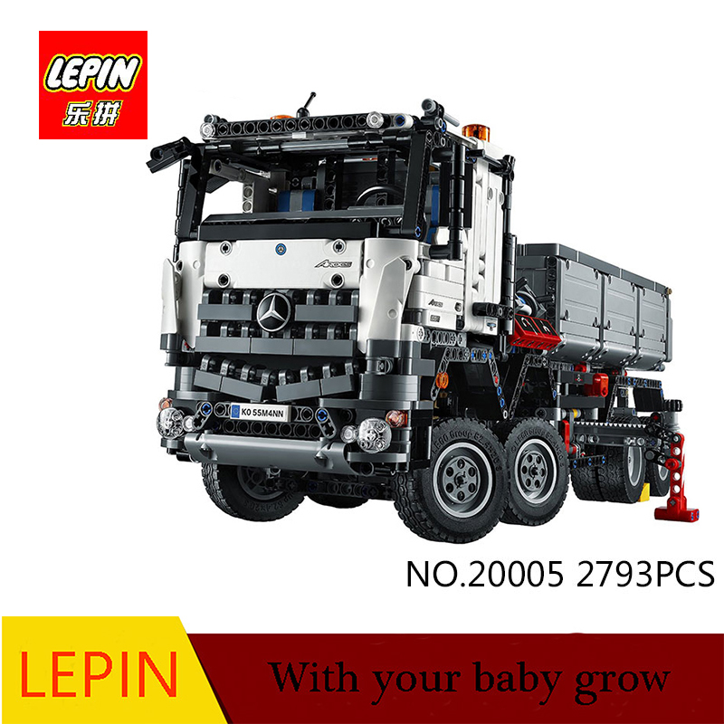 DHL lepin technic Series Lepin 20005 car-styling Building blocks Bricks toy Classic Boys Gift Compatible legoed 42043 t new lepin 16009 1151pcs queen anne s revenge pirates of the caribbean building blocks set compatible legoed with 4195 children