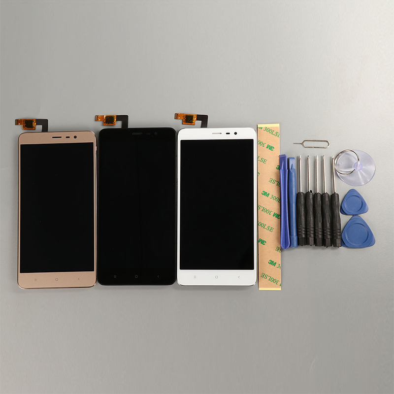 Image 2 - Display For Xiaomi Redmi Note 3 Pro LCD Screen With Frame Touch Display Soft key Backlight Replacement For Redmi Note 3 147MM-in Mobile Phone LCD Screens from Cellphones & Telecommunications