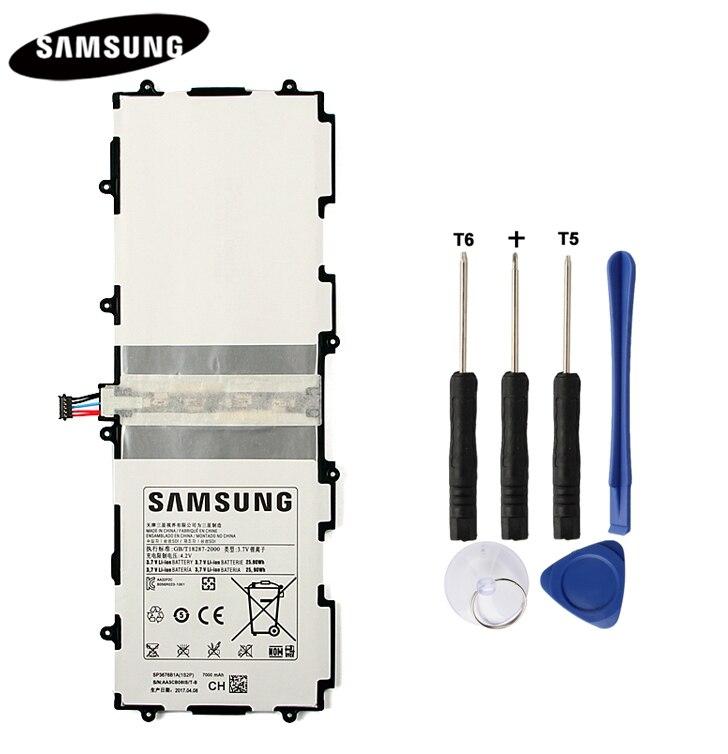 Batería Original SP3676B1A para Samsung Galaxy Note 10,1 GT-N8000 GT-N8005 N8010 N8013 N8020 P7500 GT-P7510 P5100 P5113 7000 mAh