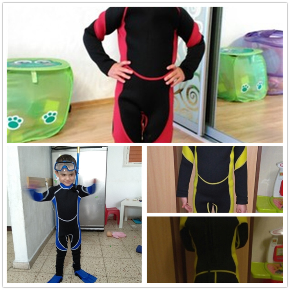 Neoprene Scuba Diving Kids Wetsuit Spearfishing Wet Suit Surf Diving One Piece Outdoor Suits Spear Fishing Wetsuit For Children
