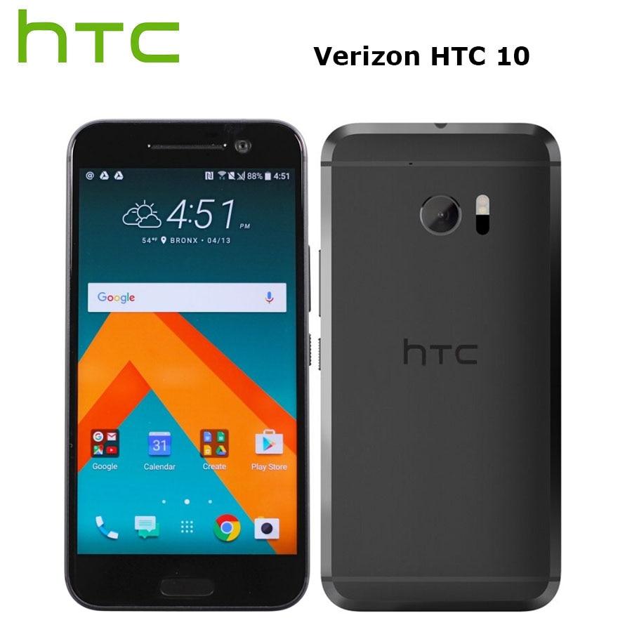 "Verizon version HTC 10 M10 LTE 4G Mobile Phone 5.2"" 4GB RAM 32GB ROM 12MP Snapdragon820 Quad Core Android Smartphone Fingerprint"