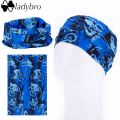 Ladybro 18 Color Amazing Seamless Scarf Fashion Turban Multifunctional Running Headband Sport Bandana Cycling Tubular Head Scarf
