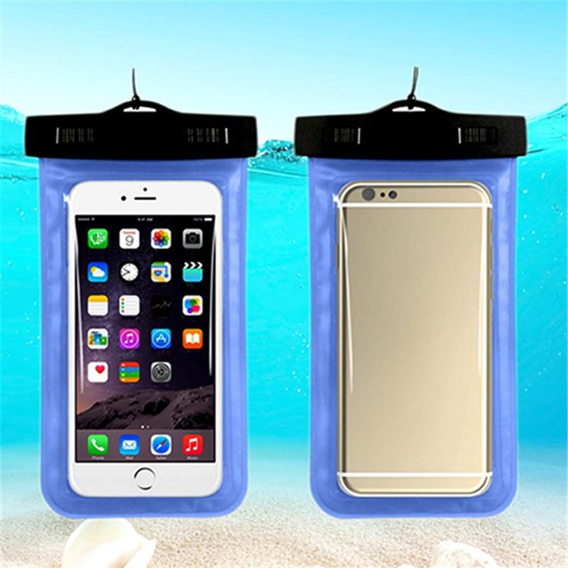 Caso de Telefone à prova d' água Com Clips Mergulho Mergulho À Deriva Saco de Acessórios Do Telefone