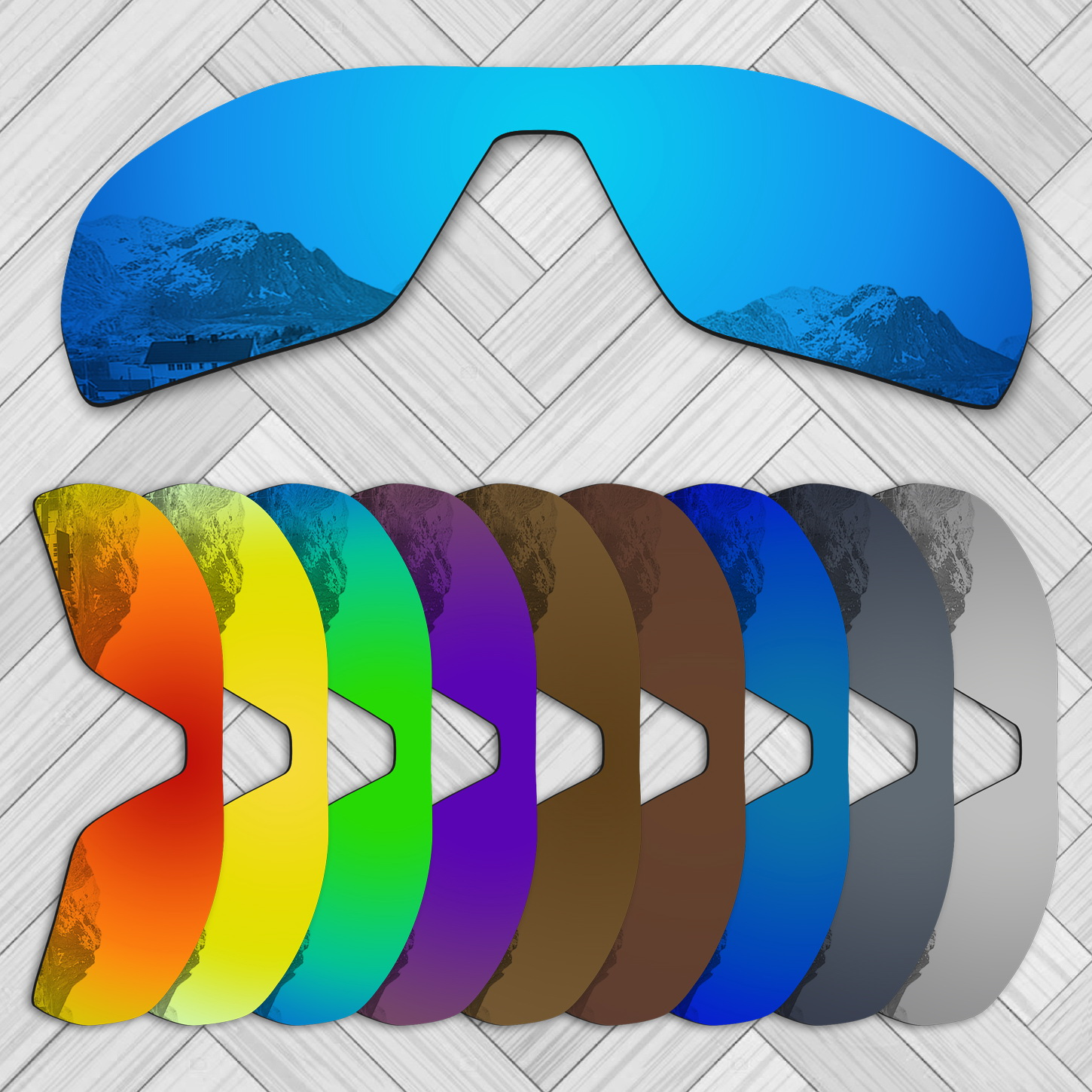 E.O.S 20+ Options Lens Replacement For OAKLEY Offshoot Sunglass