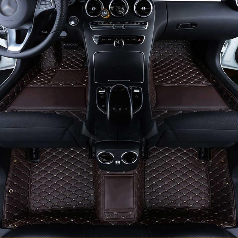 Niestandardowe logo dywaniki samochodowe dla geely boyue atlas emgrand ec7 mk GT EC7 GS GL EC8 GC9 X7 FE1 SX7 GX2 GX7 SC6 maty samochodowe