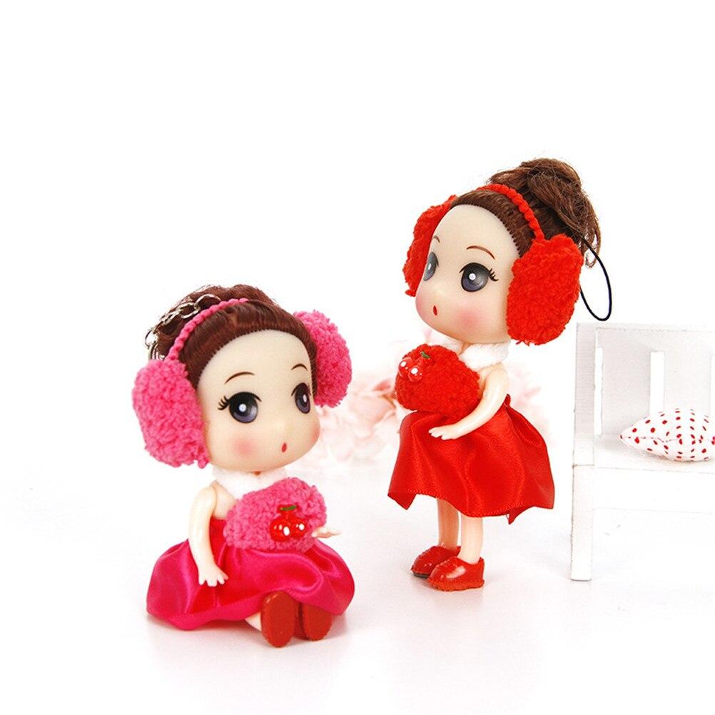 EHBqna Hot 1PC Mini Cute Ear Phone Confused Doll Best Toy Girl ...