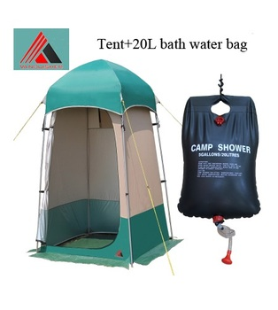 Bath Dressing Fitting Room Shower Tent/Toilet/Dressing Changing Room Outdoor Movable WC Beach Fishing Sunshade Camping Tent