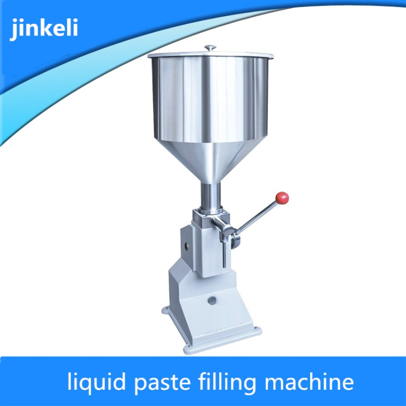 Hand Pressure Paste Filling Machine 5-50ml Cleansing Milk Filling Machinel Paste Liquid Dual-use Quantitative Filling Machine zonesun pneumatic a02 new manual filling machine 5 50ml for cream shampoo cosmetic liquid filler