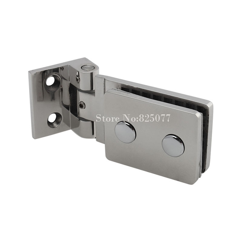 все цены на Top Quality 90 Degrees Stainless Steel 304 Wall Mount Glass Shower Door Hinge HM137 онлайн