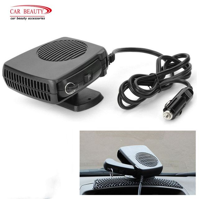 Electric Car Fan Heater Auto Vehicle Heating Windshield Defroster Demist Dc 12v 120w Cigarette Lighter Plug
