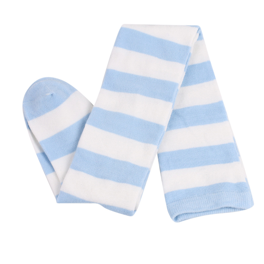 1 Pairs Keep Warm Wide Stripes Print Over Knee Socks Long Tube-shaped Socks Comfortable Soft Socks #LR2