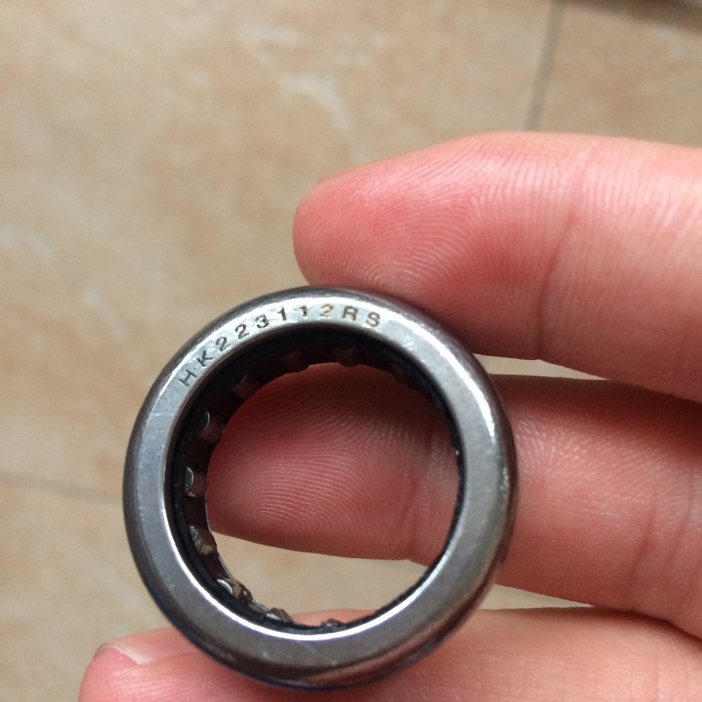 HK223112 HK223112RS Drawn cup Needle roller bearings the size of 22*31*12mm clutch pulley bearing SE12J SE44J SE46J BWS125 5S9
