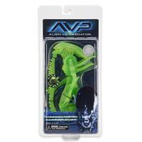 New NECA Alien vs Predator 7 inch Scale Action Figure Thermal Vision Warrior Alien (Glow in the Dark)
