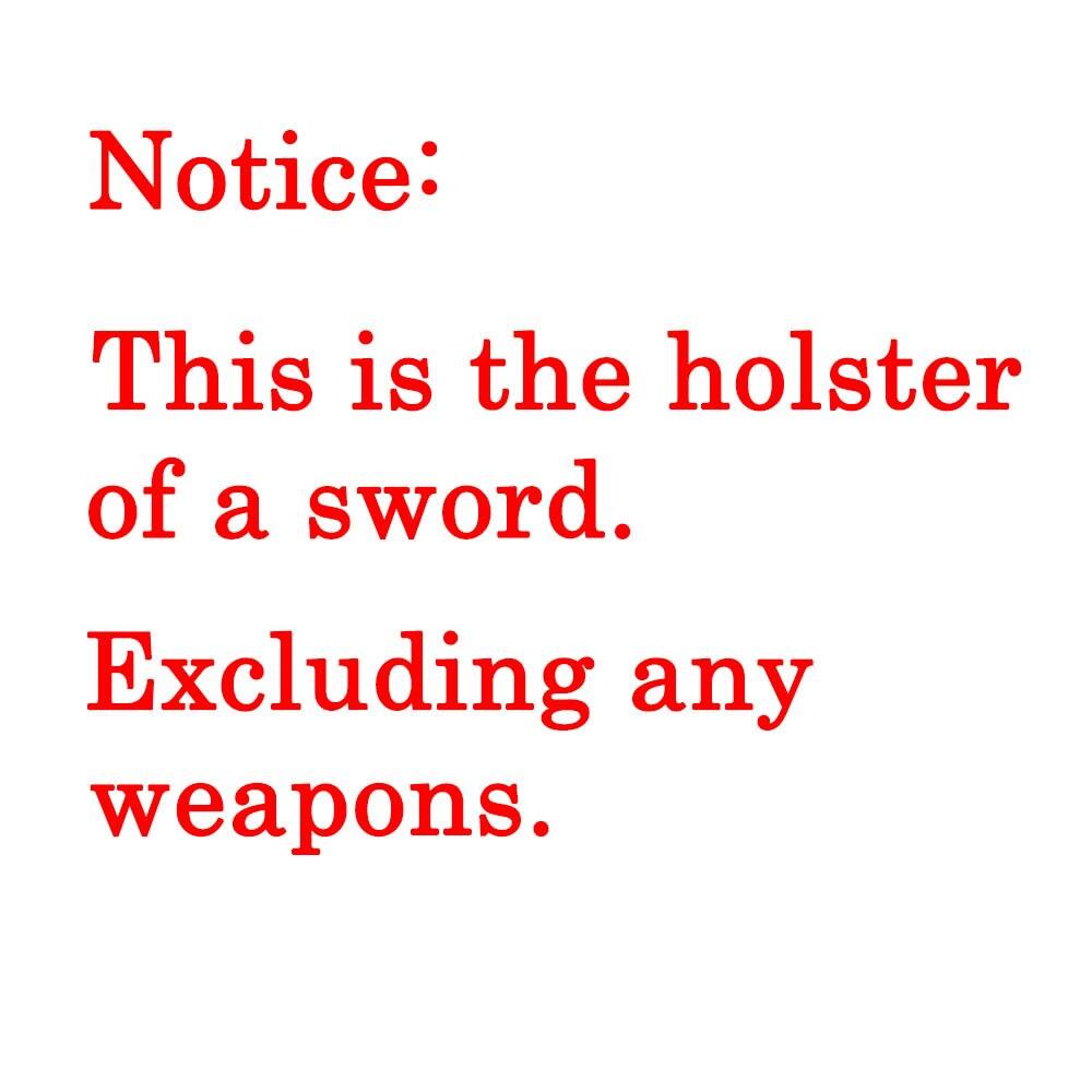 Leather Sword Bag Sword Carry Case Sword Holster Waistband Strap Deadpool Zoro Cosplay Ninja Costume Medieval Armor Holster Prop 1