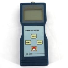 Виброметр VM-6320 использован для измерения периодически motion, для проверки дисбаланса и отклонения движущегося оборудования