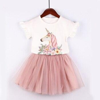 Unicorn Print Dress 1