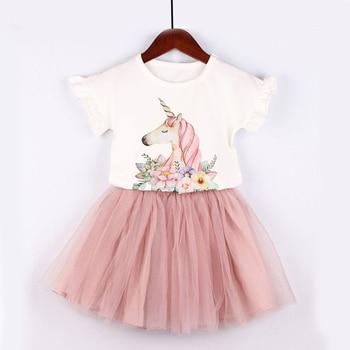 31a94cede989c Nouveaux enfants filles vêtements ensembles tenues pour filles licorne TUTU  jupes ensemble vêtements pour enfants bébé filles vêtements vêtements pour  ...