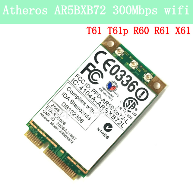 Atheros AR5008X WLAN Drivers for Windows 10