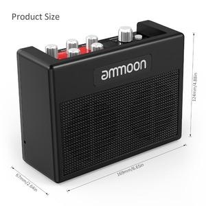 Image 4 - Ammoon POCKAMP مكبر صوت الجيتار المدمج في متعددة الآثار 80 إيقاعات طبل دعم موالف وظيفة تيرة الحنفية مع محول الطاقة