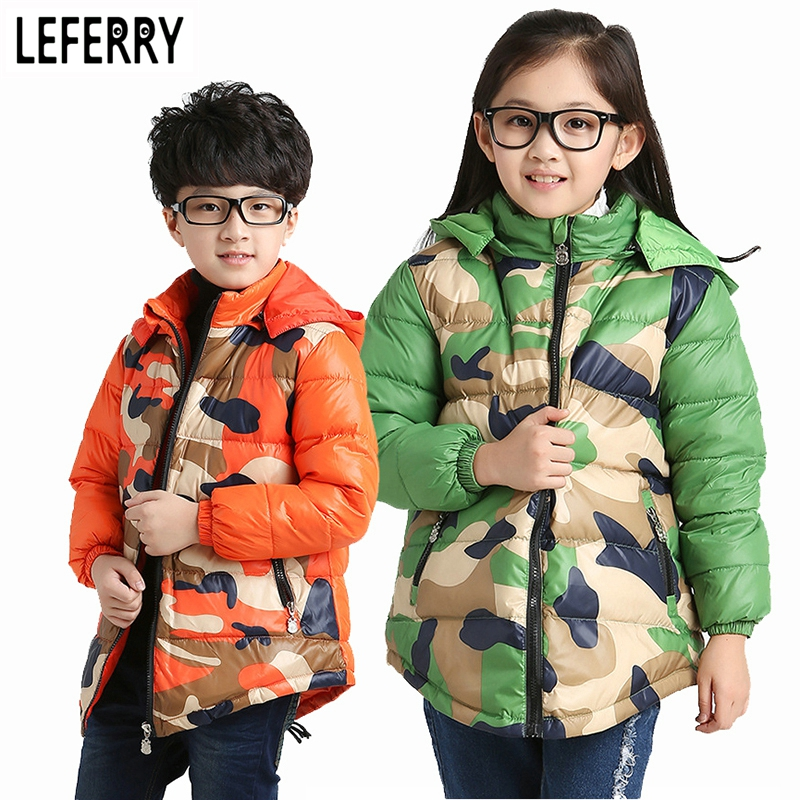 New Winter Children Jackets for Boys and Girls Winter Coats Snowsuit Baby Boy Winter Jacket Down Coats children's parka snowsuit casual 2016 winter jacket for boys warm jackets coats outerwears thick hooded down cotton jackets for children boy winter parkas