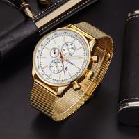 CURREN Men S Quartz Watch Business Watch Men Watch 8227 Luxury Brand Full Stainless Steel Analog