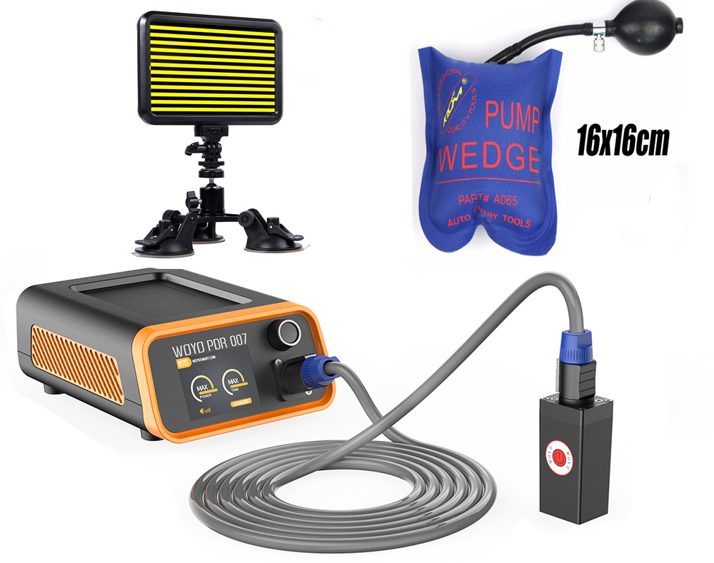 PDR-007 Hot Box PDR007 With Hand Pump Airbag Led Liht Induction Heater For Removing Dents Sheet Metal Tools Dent Repair