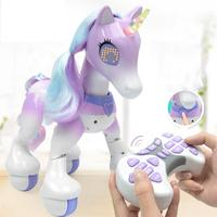 Creative Electric Smart Horse Remote Control Unicorn Children's New Robot Touch Induction Electronic Pet Educational Toy
