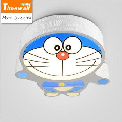 2016 Sale Ceiling Light Abajur [] Cape Led Childrens Room Warm And Romantic Bedroom Ceiling Lamps A Doraemon Cartoon Lighting