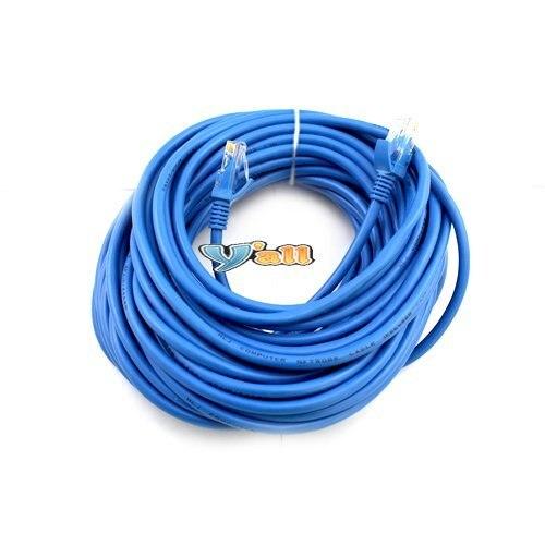 Free Shipping Cat5E Network Ethernet LAN Cable CAT5 5E 50ft 10pcs/lot-CL096BU
