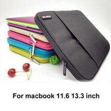HOT Ultrabook Laptop Sleeve Bag Case for Apple Macbook Pro Retina 13 air 13 11 inch ,Nylon Notebook bag For Lenovo Dell HP