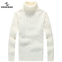Men Turtleneck Sweater Contracted Business And Leisure More 2015 Winter Warm High Quality Luxury Sweaters Men