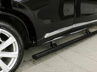 Горячая Распродажа алюминиевый сплав шаг в сторону Бег доска электрическая педаль для 2015 + XC90