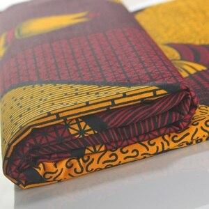 Image 2 - Wahre wachs garantiert echte wachs hoher qualität pagne 6yard african ankara nähen stoff