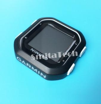 Reloj GPS Para Garmin Edge 25 Carretera Bicicleta Gps Tracker Funda Frontal Con Botón Pantalla LCD Panel De Repuesto De Cristal Blanco
