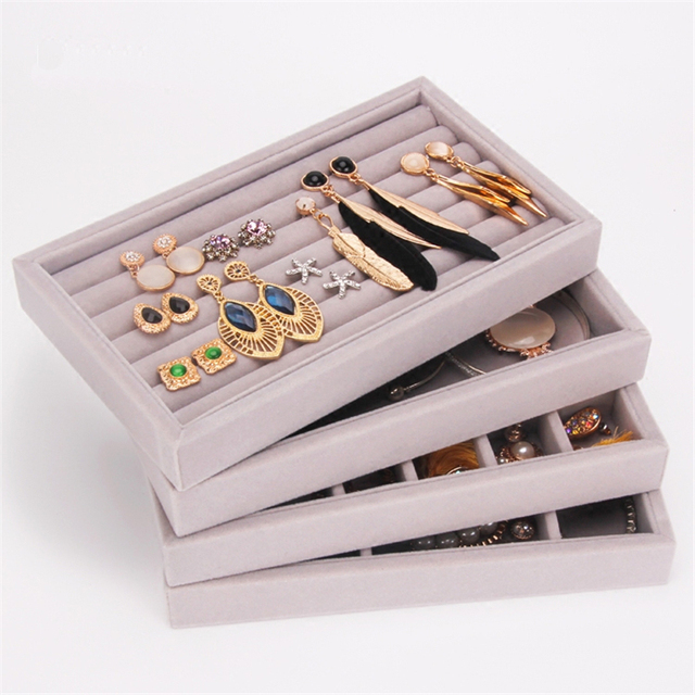 210 120 26mm Jewelry Display Tray Jewelry Organizer Case Jewellery