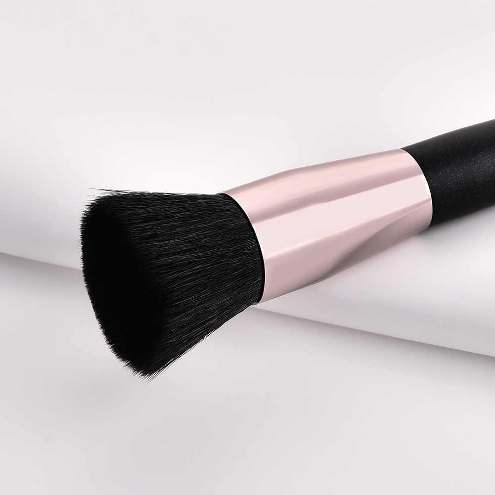 Pinceau cosmétique maquillage outils manche en bois Portable Durable pour visage yeux fard à paupières 669
