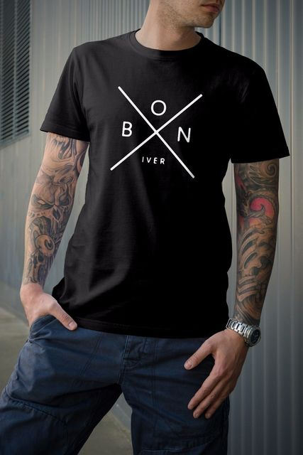 bon iver tshirt new t shirts funny tops tee new unisex funny tops tee high quality casual. Black Bedroom Furniture Sets. Home Design Ideas