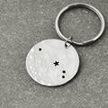 Aries Constellation keychain,Aries Sign Birthday Gift, Horoscope keychain, Astrology Jewelry,Zodiac keychain