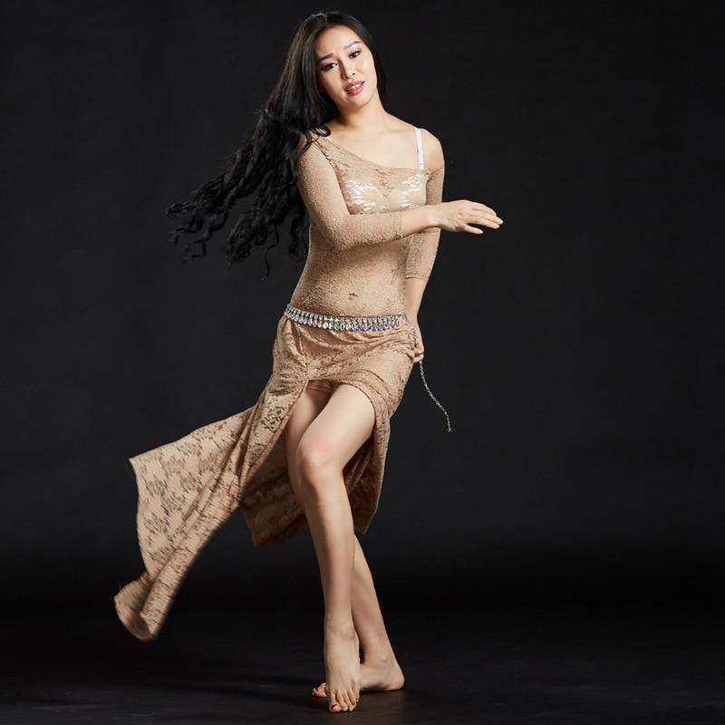 Image 2 - Женские кружевные платья с шортами, длинные платья для танца животаТанец живота    АлиЭкспресс