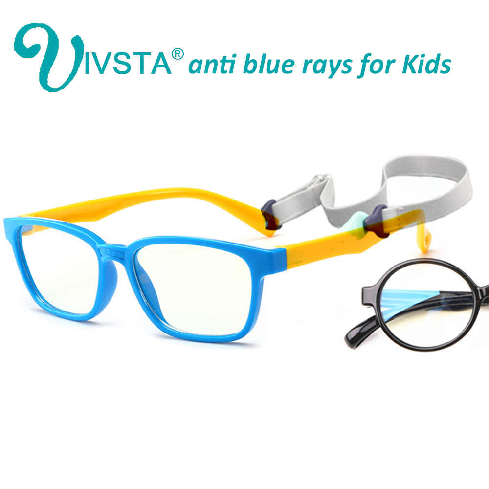 d6dfb82000c IVSTA Anti Blue Rays Kids Glasses Computer Radiation UV400 Boys Optical  Frame Gaming Phone Amblyopia TR90