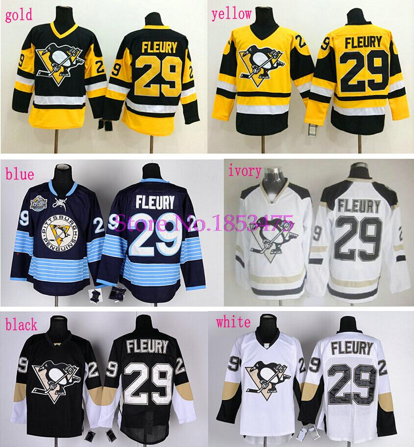 reputable site 8a491 22b6e Andre Fleury jersey Pittsburgh Penguins #29 Andre Fleury ...